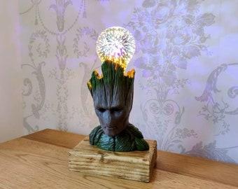 Adult Groot Lamp