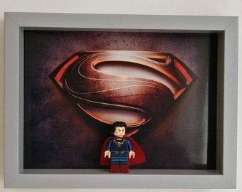 Man of Steel, Fan Art Mini Figure Frame