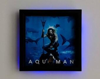 Aquaman, Fan Art Figure Frame