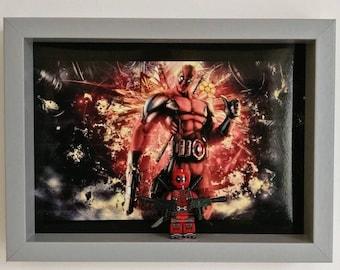 Deadpool, Fan Art Mini Figure Frame