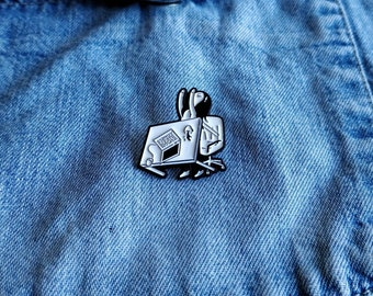 Flip the Desk Pin/Badge