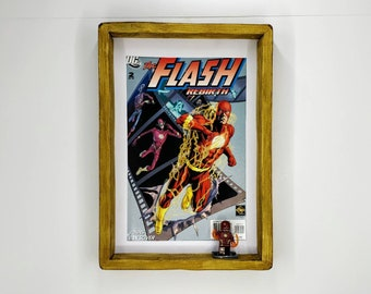 The Flash Comic, Front Cover, Fan Art Figure Frame