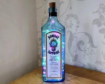 Bombay Sapphire Gin Bottle Light
