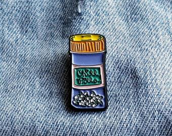 Chill Pills Pin/Badge