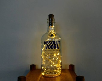 Absolute Vodka Bottle Light