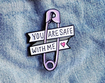 Positive Safety Pin/Badge