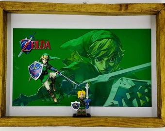 Legend of Zelda Fan Art Figure Frame