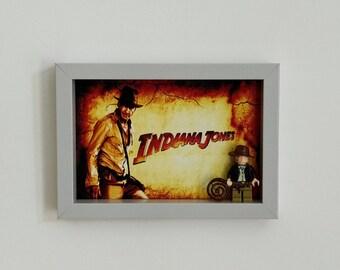 Indiana Jones, Fan Art Mini Figure Frame