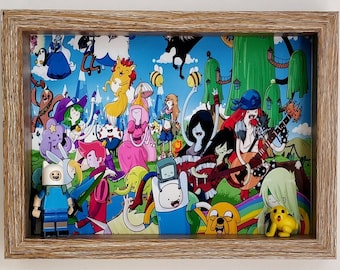 Adventure Time, Fan Art Mini Figure Frame