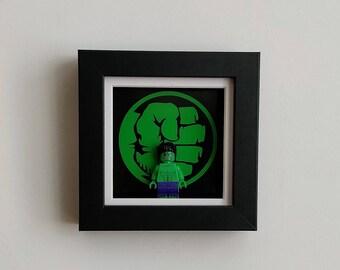The Incredible Hulk, Fan Art Figure Frame