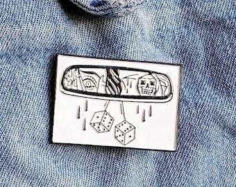 Rear View, Grim Reaper Pin/Badge