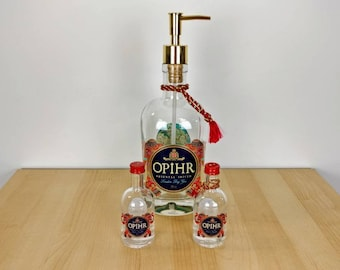 Opihr Gin Gift Set - Soap Dispenser and Salt & Pepper Shakers