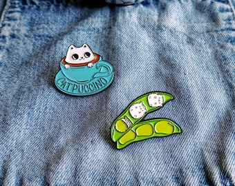 Cute Cats Pin/Badge