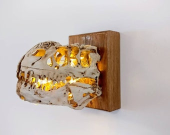 Dinosaur Fossil/Skull LED Light Sconce