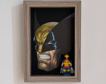 Wolverine, Fan Art Mini Figure Frame