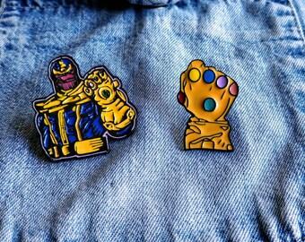 Infinity Gauntlet, Thanos Pin/Badge