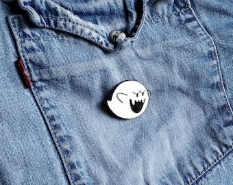 Super Mario Boo Ghost Pin / Badge