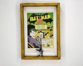 Batman Comic Strip Fan Art Figure Frame