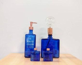 Haig Whisky Gift Set - Soap Dispenser, Lamp and Salt & Pepper Shakers