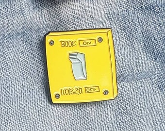 Lightswitch Reading Pin/Badge