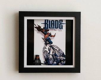 Blade Vampire, Fan Art Figure Frame