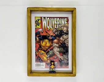 The Wolverine Comic, Front Cover, Fan Art Figure Frame