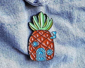 Spongebob Pineapple House Pin/Badge
