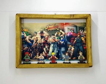 Street Fighter Fan Art Figure Frame