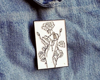 Rose in the thorns Pin/Badge