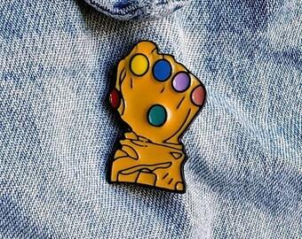 Infinity Gauntlet Pin/Badge