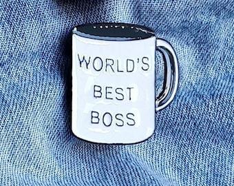 World's Best Boss, The Office Pin/Badge