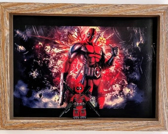 Deadpool, Fan Art Mini Figure Frame