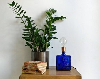 Upcycled Haig Whisky Bottle Table Lamp