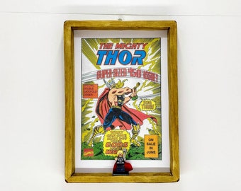 The Mighty Thor Comic Strip, Fan Art Figure Frame
