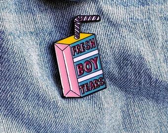 Fresh Boy Tears Pin/Badge
