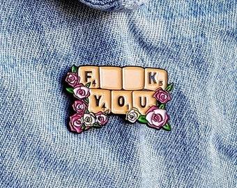 Scrabble Pin/Badge