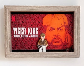 Tiger King, Fan Art Mini Figure Frame