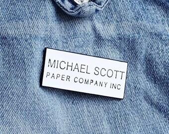 Michael Scott Paper Company Pin/Badge
