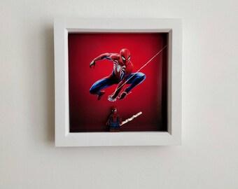 Spiderman, Fan Art Figure Frame