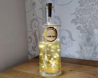Gold Botanist Bottle Light
