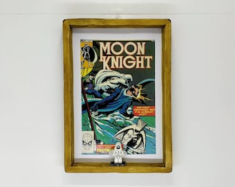 Moon Knight Comic, Front Cover, Fan Art Figure Frame