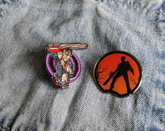 Evil Dead, Ash, Army of Darkness Pin/Badge