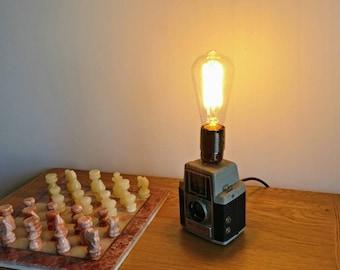 Vintage industrial Camera Lamp