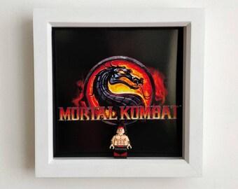 Mortal Kombat, Fan Art Figure Frame