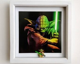 Yoda, Fan Art Figure Frame