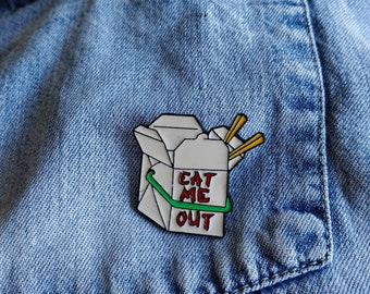 Adult Takeaway Pin/Badge
