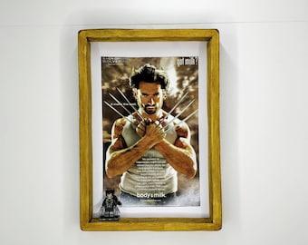 Wolverine 'GOT MILK?' Advert Fan Art Figure Frame
