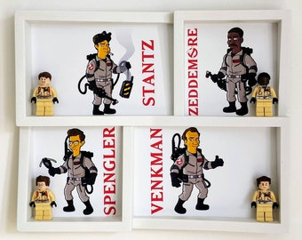 Ghostbusters Fan Art Mini Figure Frame