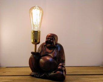 Laughing Buddha Enlightened Edison Lamp