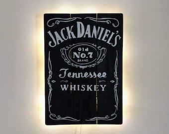 Jack Daniels Whiskey Wall Light